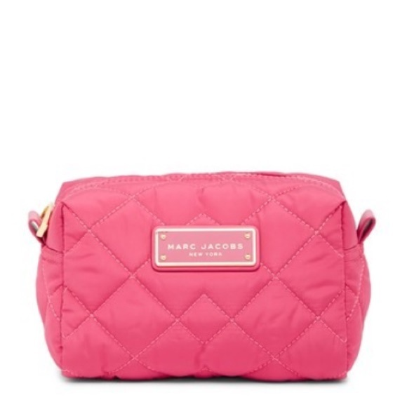 ebdd61e95287 Marc Jacobs Quilted Nylon Large Cosmetic Case
